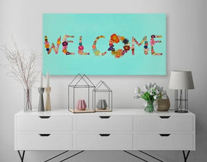 Welcome - Canvas Giclée Print