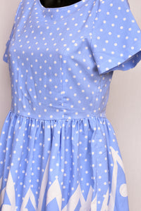 Black Jam polka dot dress, size 10