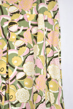 Load image into Gallery viewer, Laura Ashley silk/cotton pastel patterned skirt, size 10