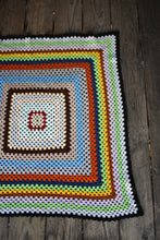 Load image into Gallery viewer, Square crochet blanket