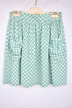 Load image into Gallery viewer, Kate Sylvester gingham short skirt, size S
