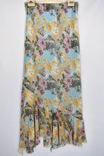 Load image into Gallery viewer, Corina's NZ floral long skirt, size 12