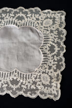 Load image into Gallery viewer, Silk cream doily
