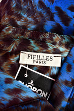 Load image into Gallery viewer, Fifilles Paris patterned shirt, size M