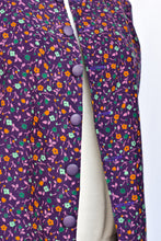 Load image into Gallery viewer, Handmade purple corduroy waistcoat, size M