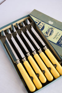 Vintage Mutual stainless steel 6 piece knife set