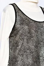 Load image into Gallery viewer, Lemon Tree shimmery singlet top, size 10