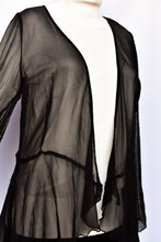 Load image into Gallery viewer, Stunning Kingan Jones sheer silk top, size 10