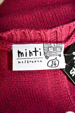 Load image into Gallery viewer, Minti Melbourne pink cardy, size 14 (kids)/Small (Womens)