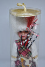 Load image into Gallery viewer, Tartan Scottish doll