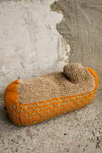 Load image into Gallery viewer, Woollen small house cushion, 31cm wide