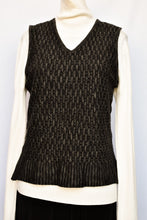 Load image into Gallery viewer, Sabatini pure wool lightweight vest, size M