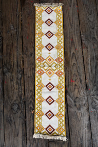 Chunky cross stitch table Runner