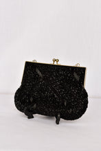 Load image into Gallery viewer, La Regale beaded clutch bag