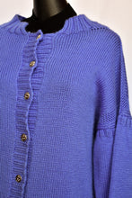 Load image into Gallery viewer, Handmade purple cardy, size L