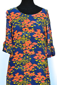 Charmaine Reveley silk dress, size 10