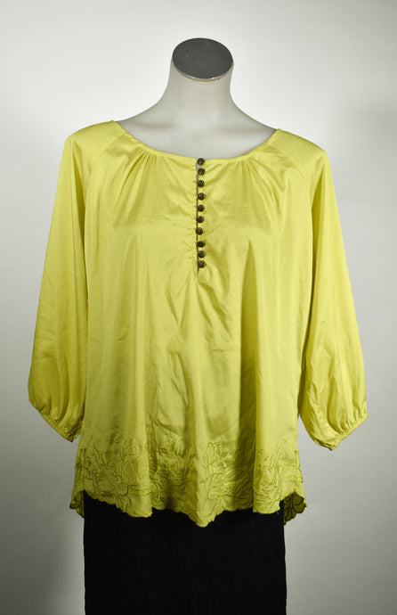 Loose fitting top, size S