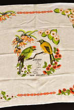 Load image into Gallery viewer, Natural flax kiwiana small tablecloth