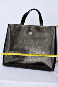 Satchi House leather tote bag
