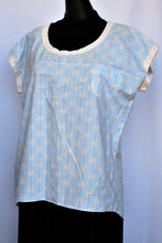 Load image into Gallery viewer, Trenery light blue cotton tee, size S