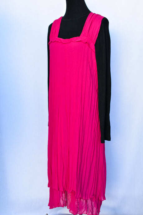Mosaic NZ pink dress, size 14