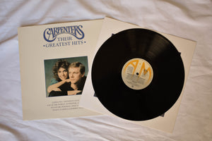 "Carpenters ""Their Greatest hits"" vinyl"