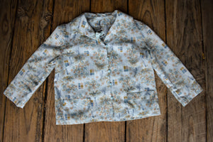 Vintage lightweight button up shirt, size S