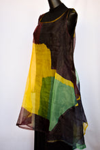 Load image into Gallery viewer, Sheer multicoloured dress, size S