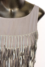 Load image into Gallery viewer, Miss Behave Vintage fringe dress, size 8