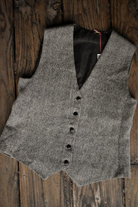 Black and white waistcoat, size Men's S