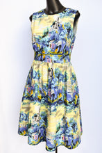 Load image into Gallery viewer, Emily and Fin patterned dress, size S