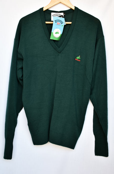 Mackenzie Country wool Golf V neck jumper, size S