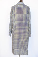 Load image into Gallery viewer, Ruby sheer button up dress, size 6