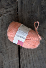 Load image into Gallery viewer, NZ Made peach mohair wool, 5 balls
