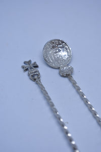 Pair of early 1900's Maltese Cross spoons