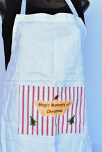 Load image into Gallery viewer, Handmade Christmas apron