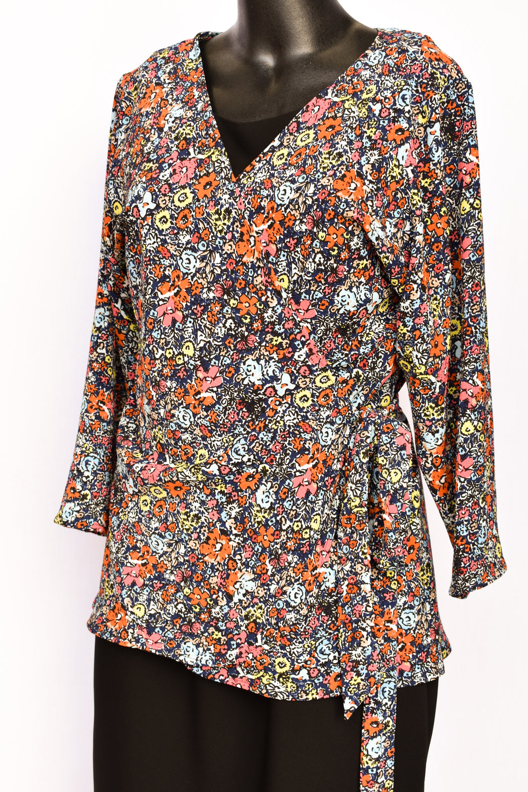 Carly Harris wrap top, size 1