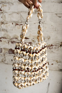 Awesome handmade shell bag