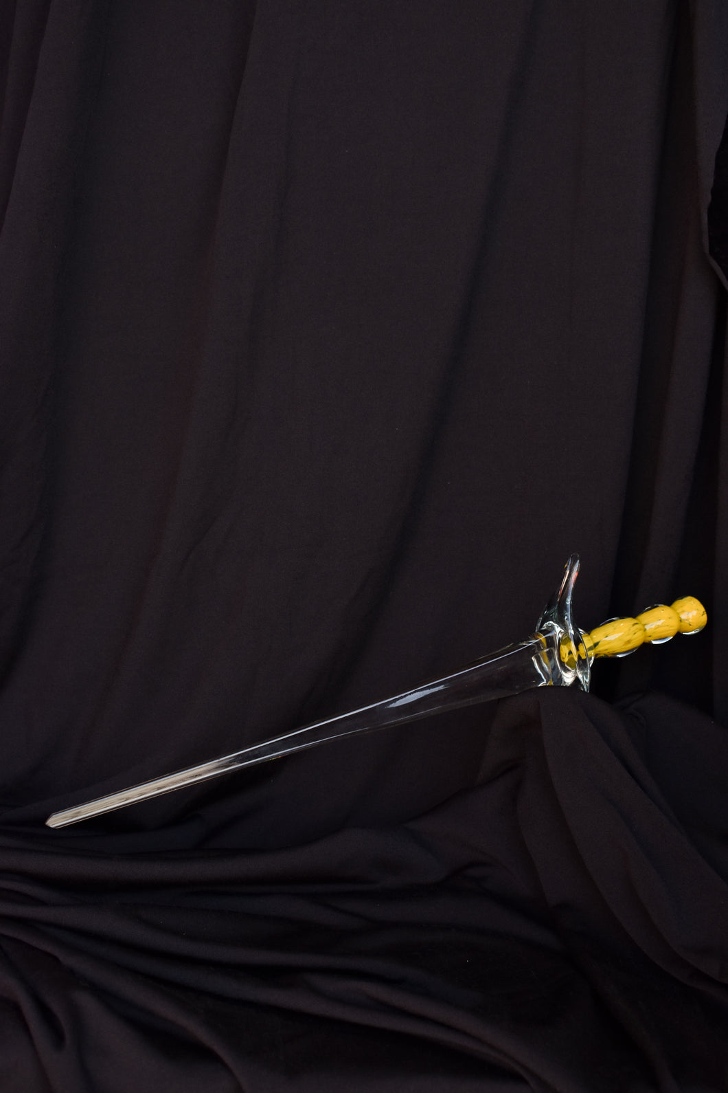 Decorative glass sword - pick up only
