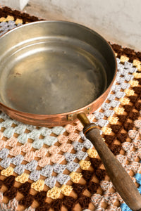 Vintage copper pan