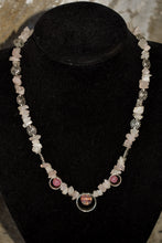 Load image into Gallery viewer, Pale pink beaded necklace