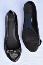 Load image into Gallery viewer, Melissa black ballet flats, size 42