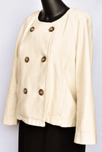 Load image into Gallery viewer, Trenery cream jacket, size 12