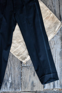 Men's black vintage trousers, size 38cm (waist)