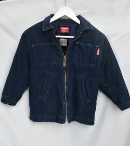 OshKosh cord navy kids jacket, size 8