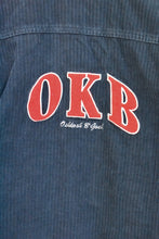 Load image into Gallery viewer, OshKosh cord navy kids jacket, size 8