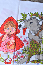 Load image into Gallery viewer, Red Riding Hood retro kids pillowcase