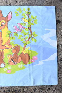 Bambi retro kids pillowcase