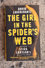 Load image into Gallery viewer, The Girl in the Spider's Web by David Lagercrantz