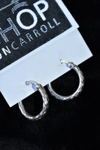 Load image into Gallery viewer, Thai 925 silver small hoops